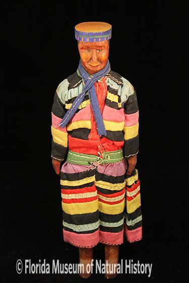 Figure 5: Male Seminole carved doll. Photo credit: Austin Bell.