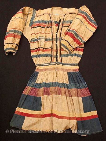 "Man's long shirt, cotton cloth and thread, early 20th century, 47.2"" top to bottom (21387)."