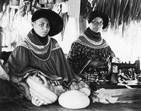 Figure 3: Photograph of Seminole women, Fort Myers, FL. Courtesy of Woodward W. Hanson (Ex-440_HFA).