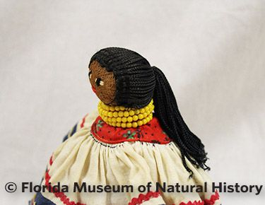 Figure 20: Female doll with ponytail.