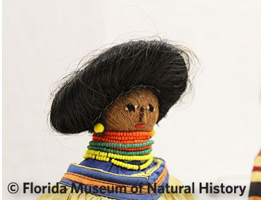 Figure 23: Female doll with real hair.