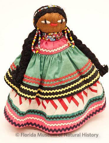Figure 19: Female doll with braids. Photo credit: Eric Zamora.