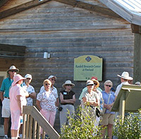 Public tour begins at the Randell Research Center classroom, trailhead of the Calusa Heritage Trail.