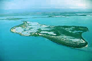 Aerial view of Florida Bay. Photo courtesy South Florida Water Management District