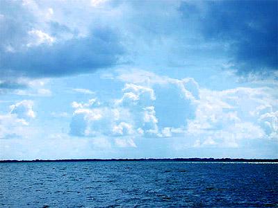 Florida Bay. Photo courtesy U.S. Geological Survey