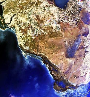 South Florida. Photo courtesy NASA