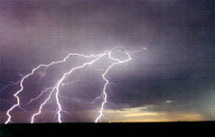 Lightning. Photo courtesy National Weather Service