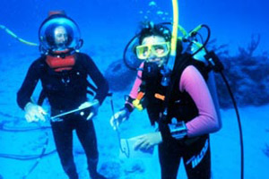 SCUBA divers. Photo courtesy OAR/National Undersea Research Program