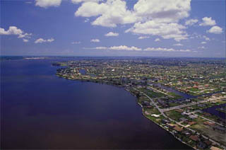 Urban development. Photo courtesy South Florida Water Management District