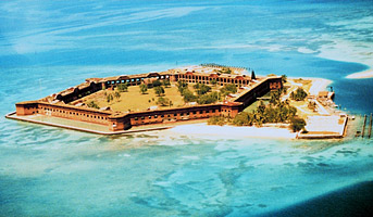 Fort Jefferson, Dry Tortugas National Park. Photo courtesy Office of NOAA Corps Operations