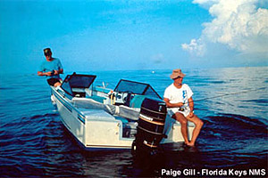 Fishing boat. Photo courtesy Florida Keys National Marine Sanctuary