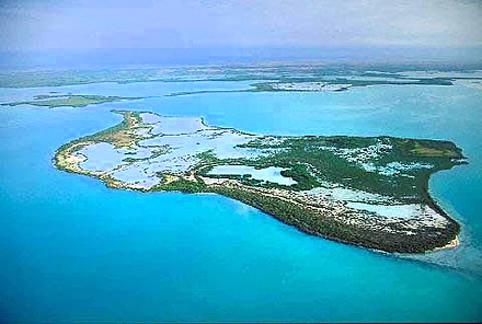 Florida Bay aerial view. Photo courtesy South Florida Water Management District