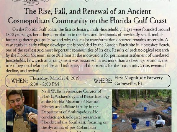 Archaeology on Tap event flier