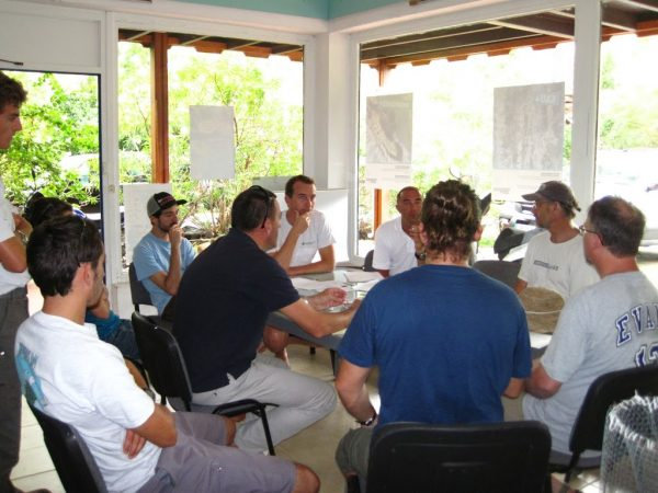 meeting with the staff
