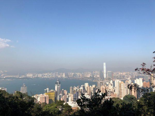 view of Hong Kong Central
