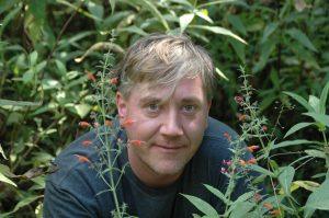 University of Florida postdoctoral researcher Bryan Drew is lead author of a new study published today (09-03-13) in PLoS Biology. Drew, who is working with researcher Doug Soltis at the Florida Museum of Natural History on the UF campus, is pictured here in 2008 on a plant collecting trip to Mexico. Photo by N. Ivalú Cacho