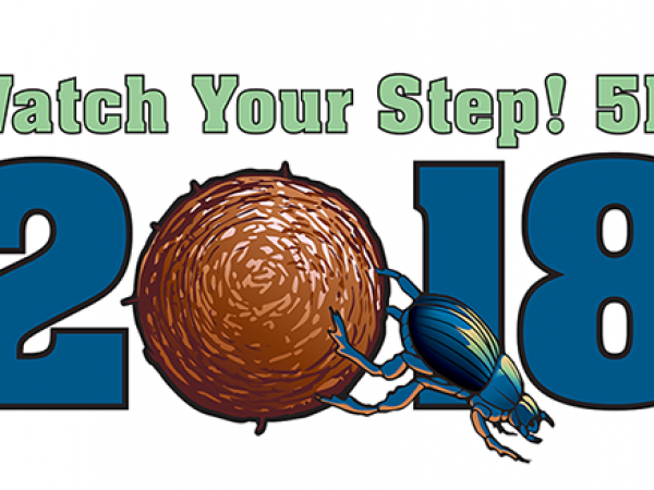 Watch Your Step 5K Logo