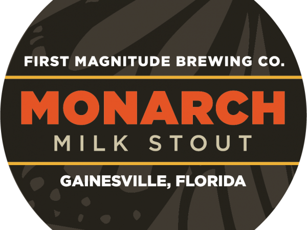 Monarch Milk Stout tap logo-corrected