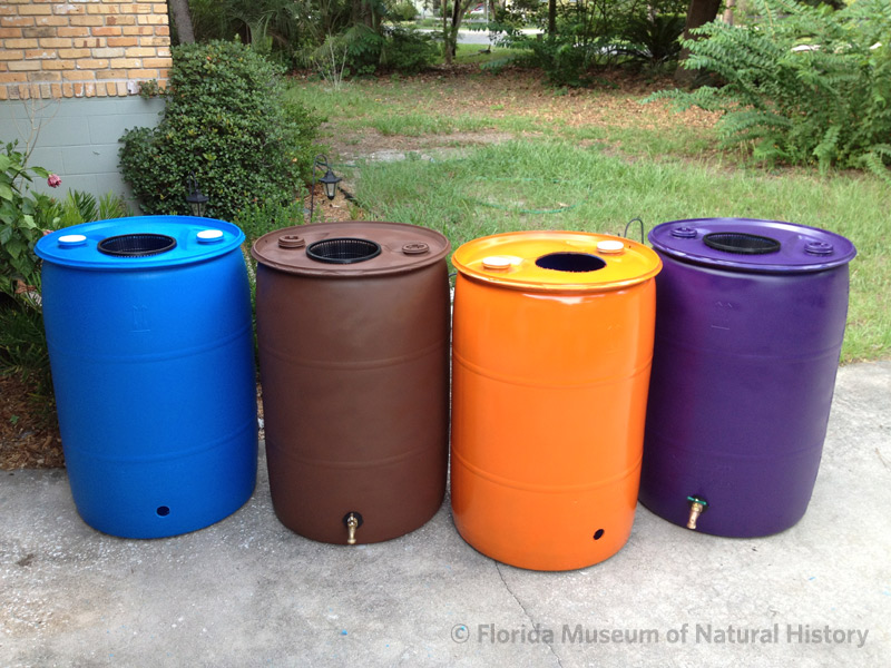 Re-purposed barrels