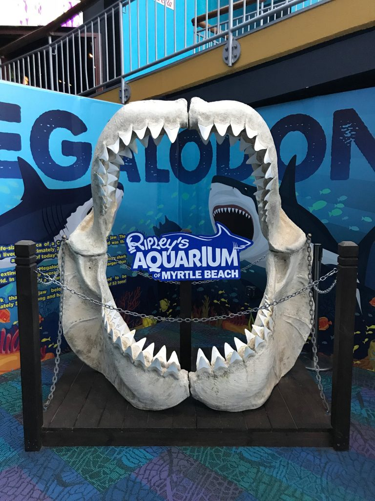Ripley's Aquarium sign