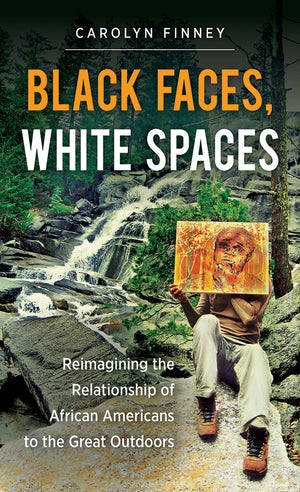 """book cover """"Black Faces, White Spaces"""""""