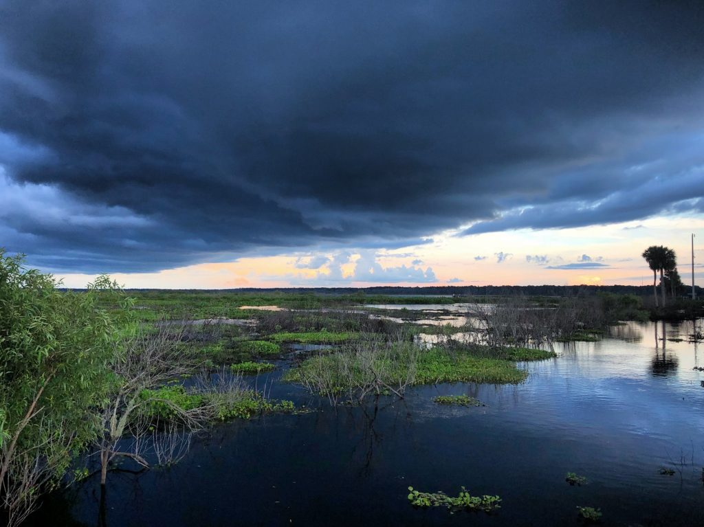 storm over the prairie