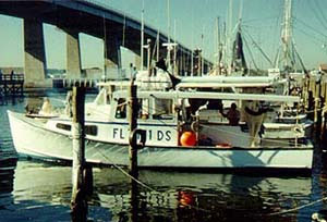 Shark fishing vessel. Photo © FLMNH Ichthyology