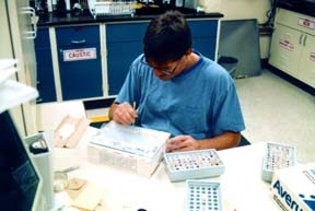Research lab. Photo courtesy U.S. Fish and Wildlife Service