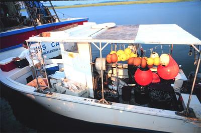 Shark boat. Photo courtesy NOAA