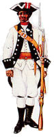 A free black militia solider from Havana, ca. 1770-1776.
