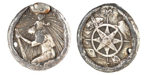 St. Christopher medallion