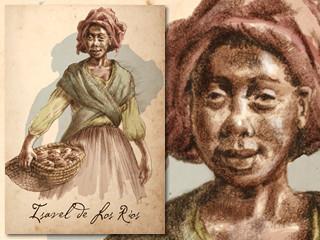 Artist's rendering of Isavel de Los Rios