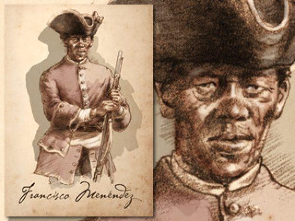 artist rendering of Francisco Menéndez