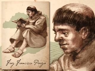 Artist's rendering of Fray Francisco Pareja