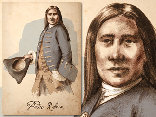 Artist's rendering of Pedro Ribera
