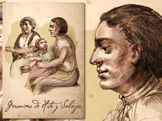 Artist's rendering of Geronimo De Hita y Salazar