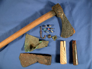 Items Indian laborers in St. Augustine were paid with