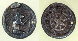 St. Christopher medallion from Ft. Mose