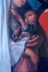 Casta child with amulets