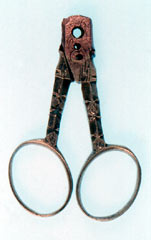 Brass embroidery scissors