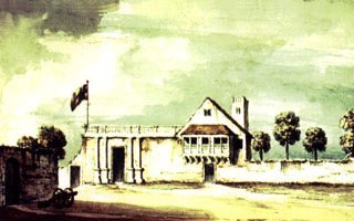 Governor's house in St. Augustine in 1764
