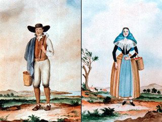 Minorcan Man and Woman