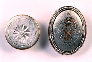Silver Cloak Buttons