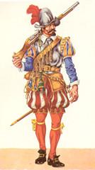 16th century Spanish soldier