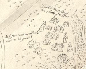 Detail of Nombre de Dios, ca. 1590