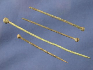 Shroud pins