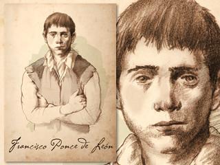 Artist's rendering of Francisco Ponce de León