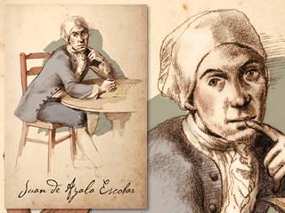 Artist's rendering of Juan de Ayala Escobar
