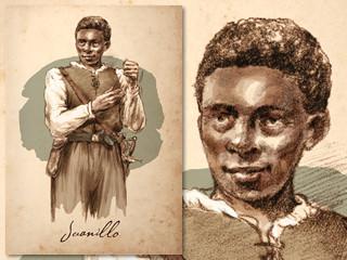 Artist's rendering of Juanillo