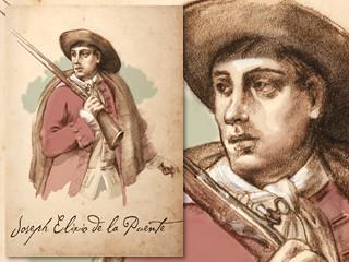 Artist's rendering of Elixio de la Puente
